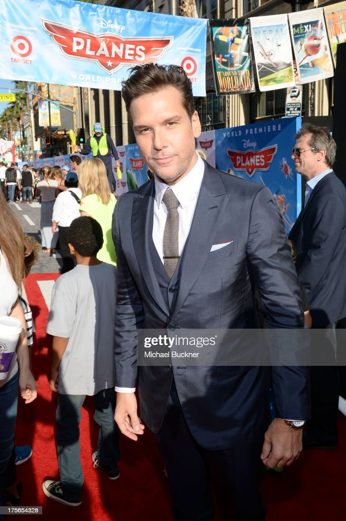 "Actor Dane Cook attends the world-premiere of ""Disney's Planes"" presented by Target at the El Capitan Theatre on August 5, 2013 in Hollywood, California."