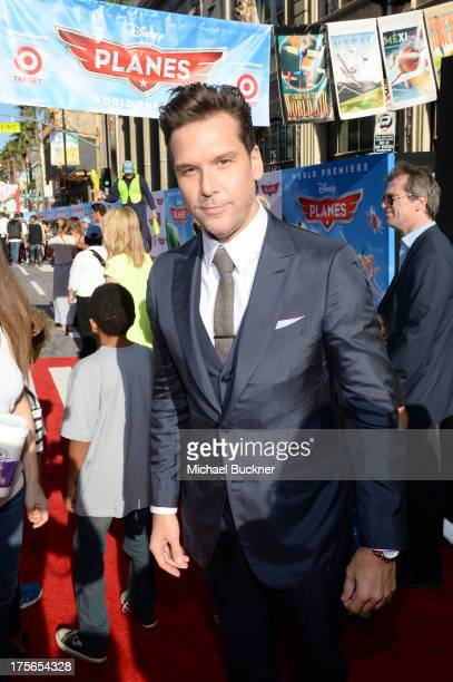 """Actor Dane Cook attends the worldpremiere of """"Disney's Planes"""" presented by Target at the El Capitan Theatre on August 5 2013 in Hollywood California"""