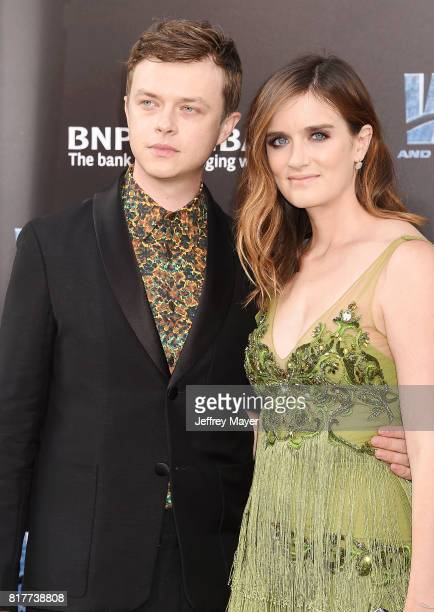 Actor Dane DeHaan and Anna Wood arrive at the Premiere Of EuropaCorp And STX Entertainment's 'Valerian And The City Of A Thousand Planets' at TCL...