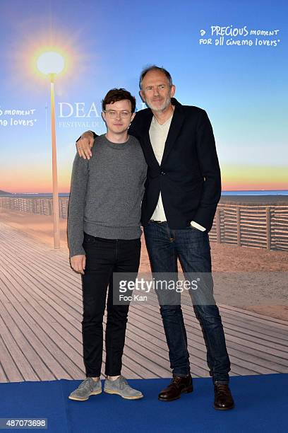 Actor Dane Dehaan and director Anton Corbijn attend the 'Life' Photo Call 41st Deauville American Film Festival at the CID on September 5 2015 in...