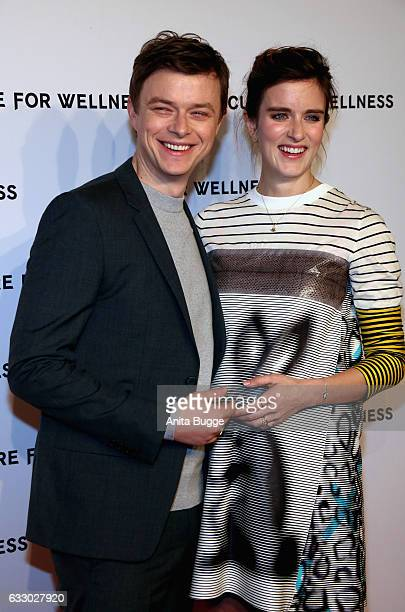 Actor Dane DeHaan and his wife Anna Wood attend the 'A Cure for Wellness' Berlin premiere on January 29 2017 in Berlin Germany