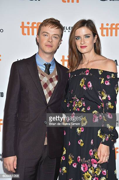 Actor Dane DeHaan and wife/Actress Anna Wood attend the 'Two Lovers And A Bear' premiere during the 2016 Toronto International Film Festival at The...