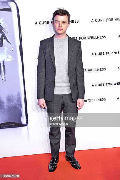 US actor Dane DeHaan attends the 'A Cure for Wellness' Premiere on January 29 2017 in Berlin Germany