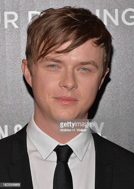 Actor Dane DeHaan attends The Cinema Society and Johnston Murphy screening of Sony Pictures Classics' Kill Your Darlings at Paris Theater on...