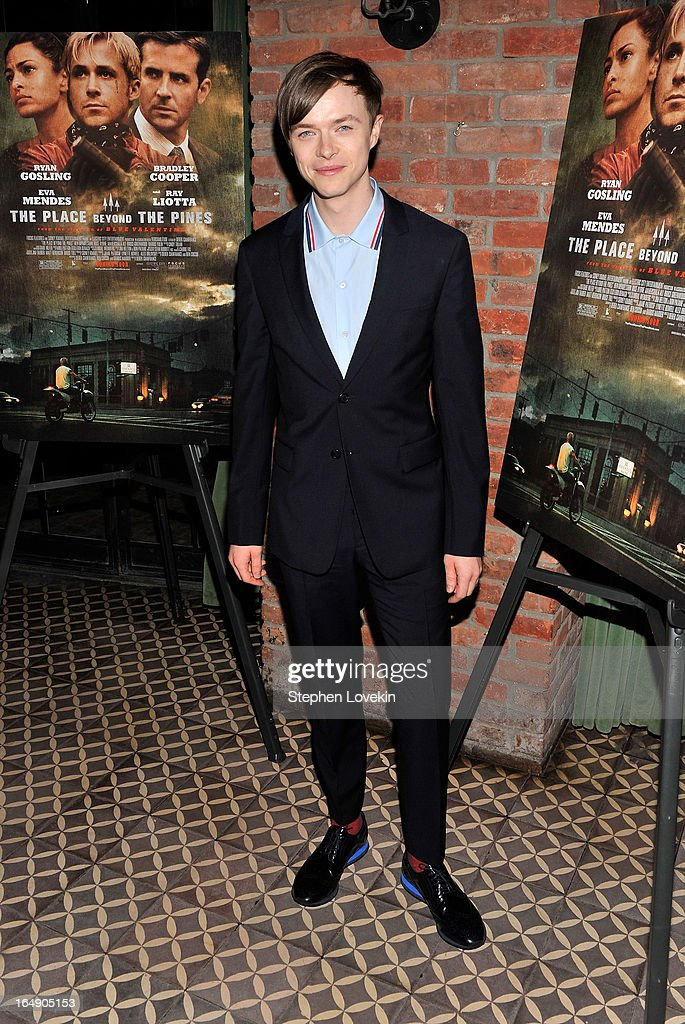 Actor Dane Dehaan attends 'The Place Beyond The Pines' New York Premiere After Party at The Bowery Hotel on March 28, 2013 in New York City.