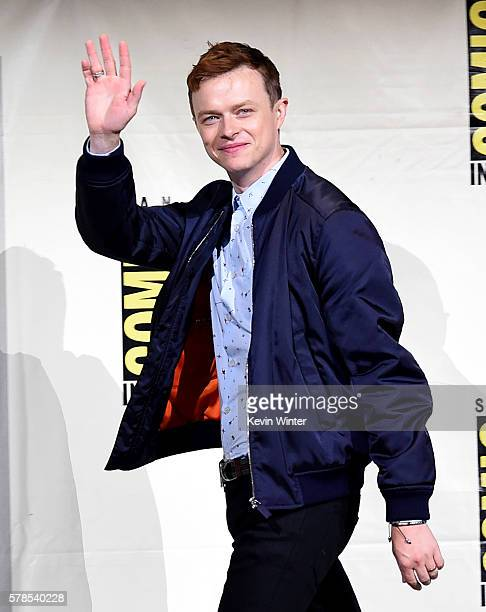 Actor Dane DeHaan attends the 'Valerian And The City Of A Thousand Planets' panel during ComicCon International 2016 at San Diego Convention Center...