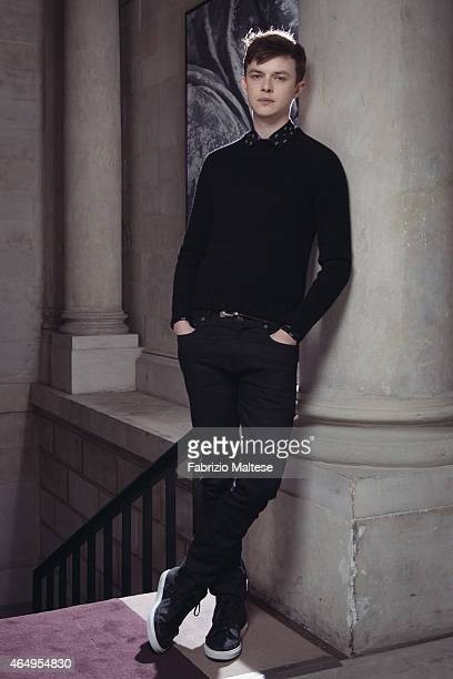 Actor Dane DeHaan is photographed for The Hollywood Reporter on February 10 2015 in Berlin Germany