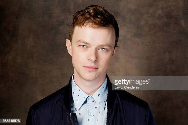 Actor Dane DeHaan of 'Valerian and the City of a Thousand Planets' is photographed for Los Angeles Times at San Diego Comic Con on July 22 2016 in...