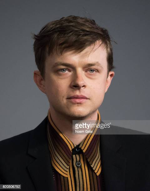 Actor Dane DeHaan visits Apple Store Soho to discuss 'Valerian And The City Of A Thousand Planets' at Apple Store Soho on July 21 2017 in New York...