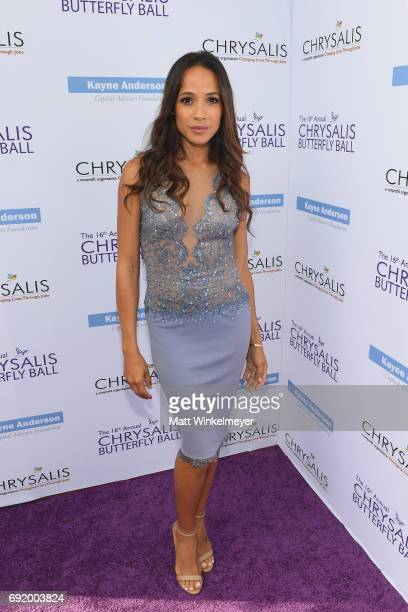 Actor Dania Ramirez at the 16th Annual Chrysalis Butterfly Ball on June 3 2017 in Los Angeles California