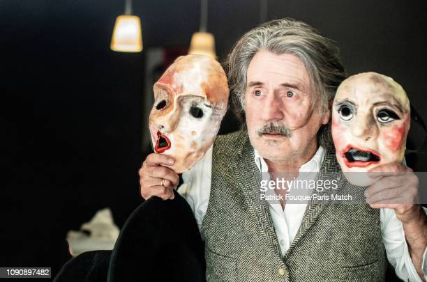 FRA: Daniel Auteuil, Paris Match Issue 3637, January 30, 2019