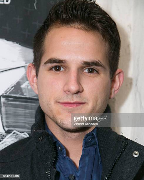 Actor Daniel Berilla attends the Guys Reading Poems fundraiser at V Wine Bar on April 11 2014 in West Hollywood California