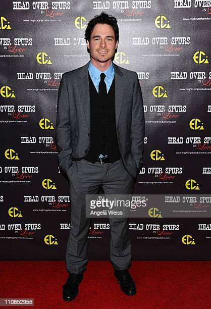 Actor Daniel Bonjour arrives at the world premiere of 'Head Over Spurs In Love' at Majestic Crest Theatre on March 24, 2011 in Los Angeles,...