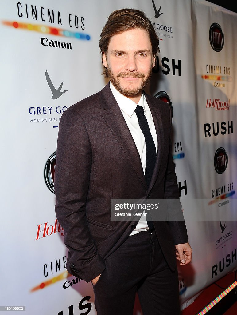 Actor Daniel Brühl at the Grey Goose vodka co-hosted party for 'Rush' on September 8, 2013 in Toronto, Canada.
