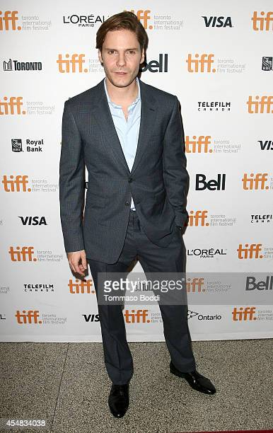 Actor Daniel Brühl attends The Face Of An Angel premiere during the 2014 Toronto International Film Festival at Winter Garden Theatre on September 6...