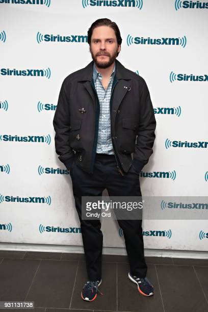 Actor Daniel Brhl visits the SiriusXM Studios on March 12 2018 in New York City