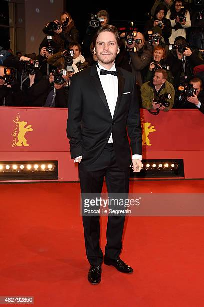 Actor Daniel Bruehl attends the 'Nobody Wants the Night' Opening Night premiere during the 65th Berlinale International Film Festival at Berlinale...