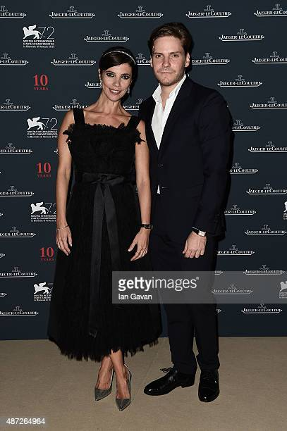 Actor Daniel Bruhl and Maribel Verdu attend the JaegerLeCoultre gala event celebrating 10 years of partnership with La Mostra Internazionale d'Arte...