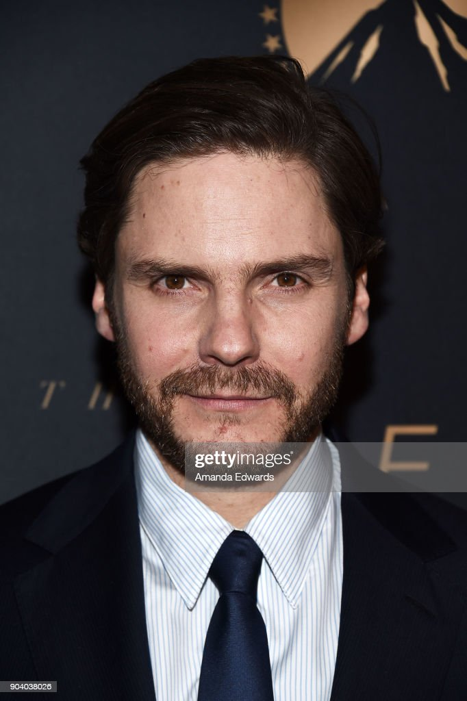 Actor Daniel Bruhl arrives at the premiere of TNT's 'The Alienist' at The Paramount Lot on January 11, 2018 in Hollywood, California.