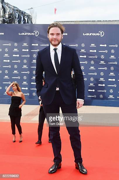 Actor Daniel Bruhl attends the 2016 Laureus World Sports Awards at Messe Berlin on April 18 2016 in Berlin Germany