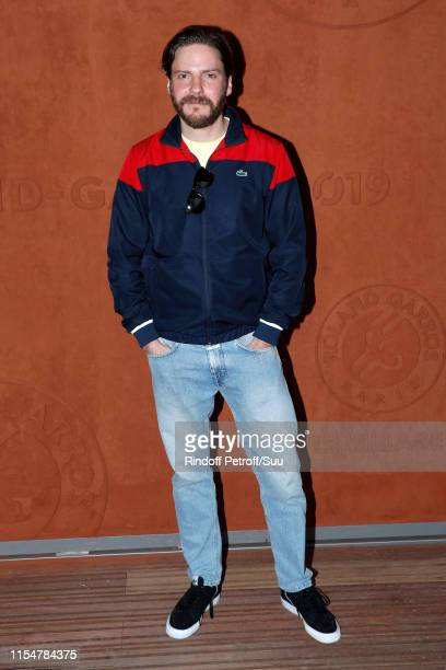 Actor Daniel Bruhl attends the 2019 French Tennis Open Day Fifteen at Roland Garros on June 09 2019 in Paris France