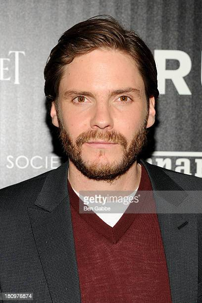 Actor Daniel Bruhl attends the Ferrari The Cinema Society screening of 'Rush' at Chelsea Clearview Cinemas on September 18 2013 in New York City