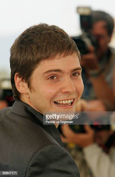 """Actor Daniel Bruhl attends the photocall for """"Die Fetten Jahre Sind Vorbei"""" at the Palais des Festivals during the 57th Annual International Cannes..."""