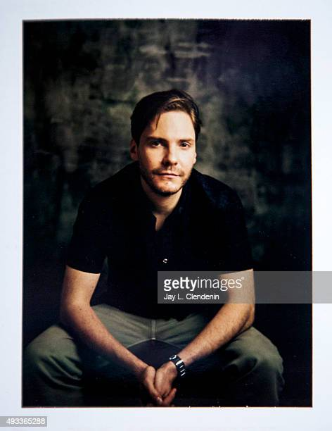 Actor Daniel Bruhl from the film 'Colonia' is photographed on polaroid film for Los Angeles Times on September 25 2015 in Toronto Ontario PUBLISHED...