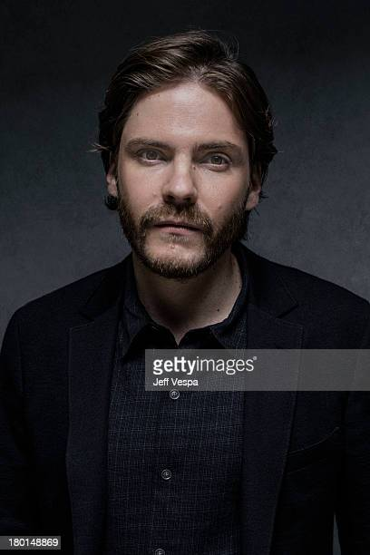Actor Daniel Bruhl is photographed at the Toronto Film Festival on September 6 2013 in Toronto Ontario