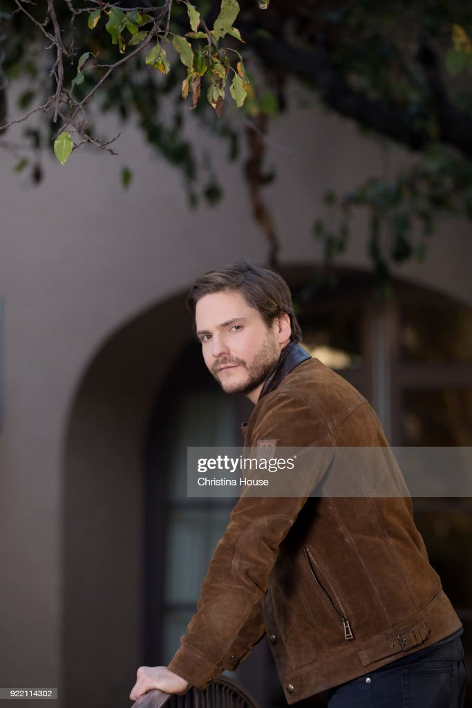 Actor Daniel Bruhl is photographed for Los Angeles Times on January 11, 2018 in Pasadena, California. PUBLISHED IMAGE.
