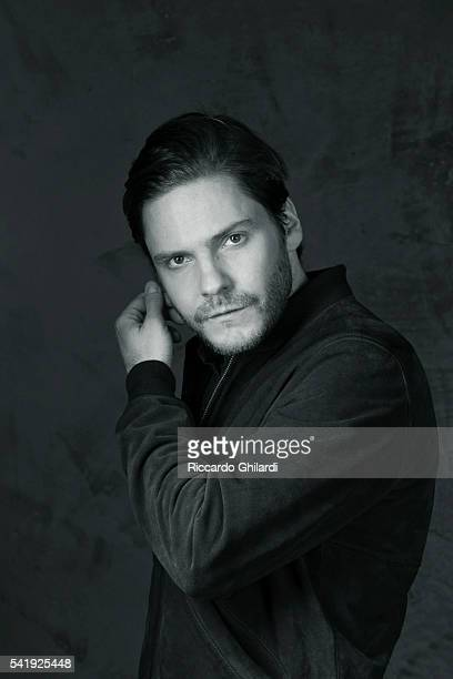 Actor Daniel Bruhl is photographed for Self Assignment on March 15 2016 in Rome Italy