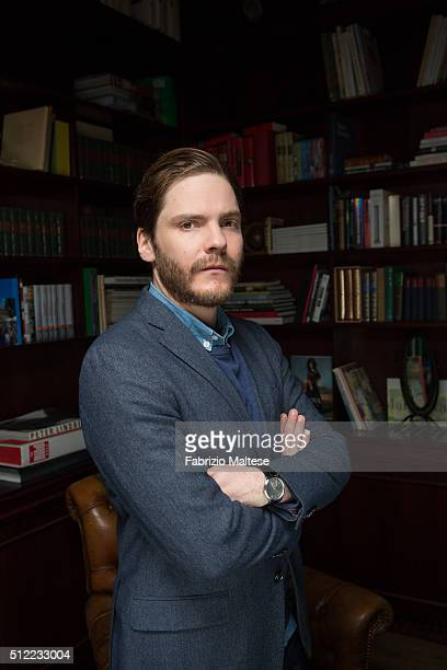 Actor Daniel Bruhl is photographed for The Hollywood Reporter on February 15 2016 in Berlin Germany