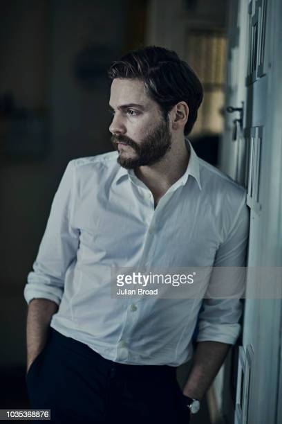 Actor Daniel Bruhl is photographed for Vogue magazine on August 26 2017 in Budapest Hungary