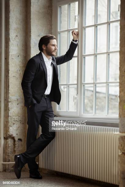 Actor Daniel Bruhl poses for a portrait during the 68th Berlin International Film Festival on February 2018 in Berlin Germany