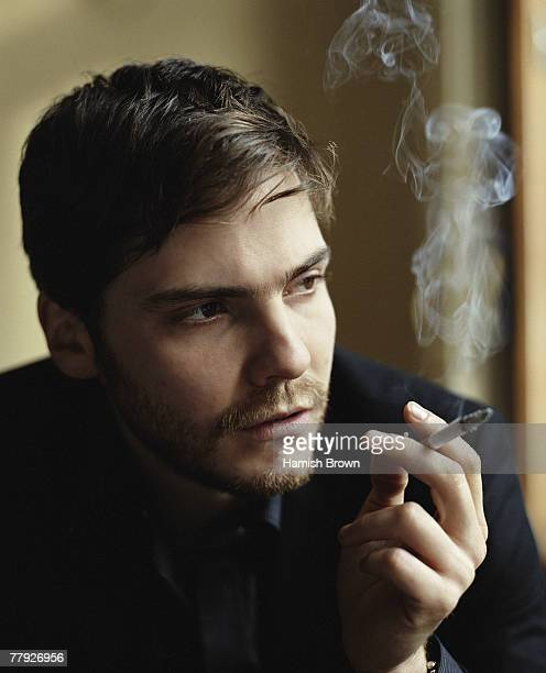 Actor Daniel Bruhl poses for a portrait shoot for MAX magazine in Berlin February 7 2007