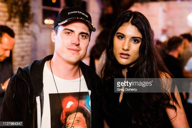 Actor Daniel Covin and Singer/Actress Jennalyn Ponraj attend the 8th Annual LANY Mixer at Pearl's on February 26 2019 in West Hollywood California