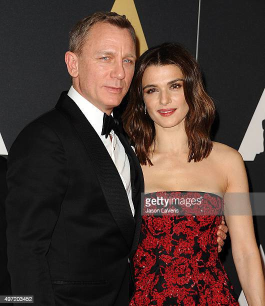 Actor Daniel Craig and actress Rachel Weisz attend the 7th annual Governors Awards at The Ray Dolby Ballroom at Hollywood Highland Center on November...