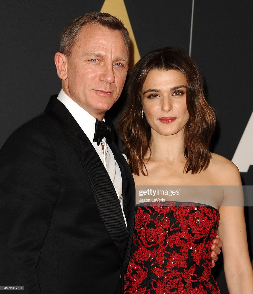 Actor Daniel Craig and actress Rachel Weisz attend the 7th annual Governors Awards at The Ray Dolby Ballroom at Hollywood & Highland Center on November 14, 2015 in Hollywood, California.