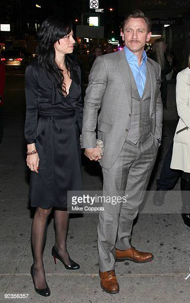 Actor Daniel Craig and Satsuki Mitchell attend the 5th Annual Worldwide Orphans Foundation Benefit Gala at Capitale on October 26 2009 in New York...