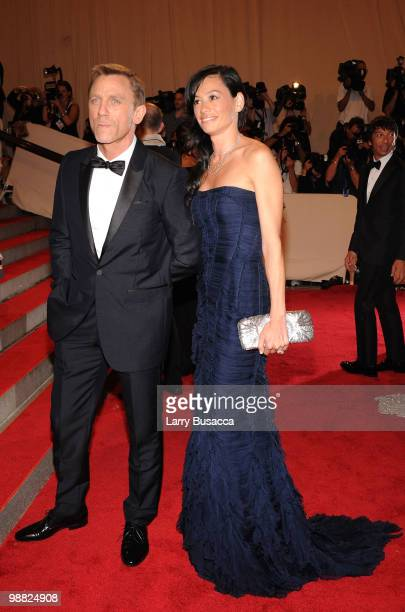 Actor Daniel Craig and Satsuki Mitchell attend the Costume Institute Gala Benefit to celebrate the opening of the American Woman Fashioning a...