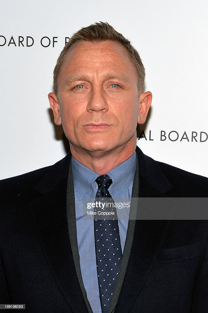Actor Daniel Craig attends the 2013 National Board Of Review Awards at Cipriani 42nd Street on January 8, 2013 in New York City.