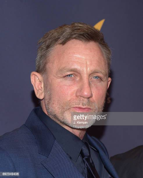 Actor Daniel Craig attends the 2017 Drama Desk Awards at Anita's Way on June 4 2017 in New York City