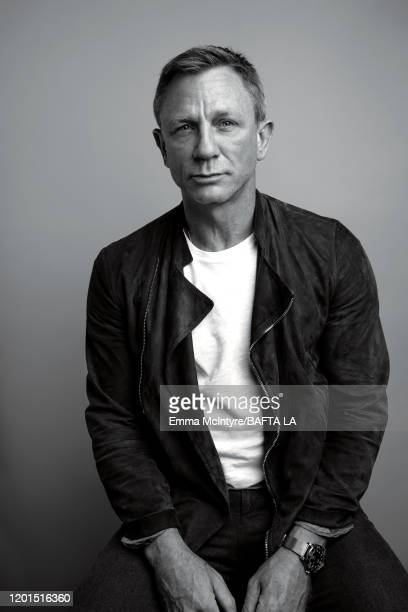 Actor Daniel Craig attends the 2020 BAFTA Tea Party on January 4 2020 in Beverly Hills California