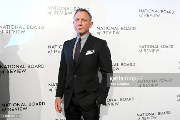 Actor Daniel Craig attends the 2020 National Board Of Review Gala on January 08, 2020 in New York City.