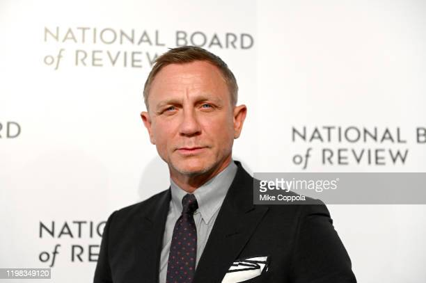 Actor Daniel Craig attends the 2020 National Board Of Review Gala on January 08 2020 in New York City