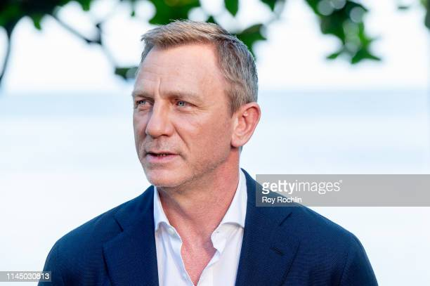 """Actor Daniel Craig attends the """"Bond 25"""" Film Launch at Ian Fleming's Home """"GoldenEye"""", on April 25, 2019 in Montego Bay, Jamaica."""