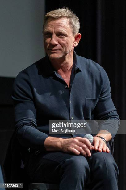 Actor Daniel Craig attends The Museum of Modern Art Screening of Casino Royale at MOMA on March 03, 2020 in New York City.