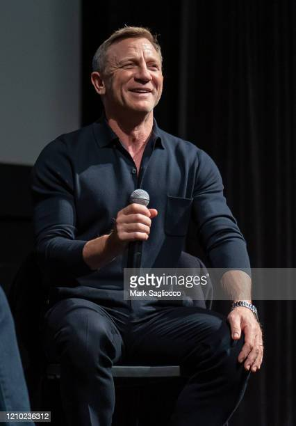 Actor Daniel Craig attends The Museum of Modern Art Screening of Casino Royale at MOMA on March 03 2020 in New York City