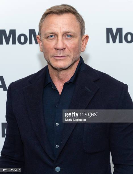 Actor Daniel Craig attends The Museum of Modern Art's Screening of Casino Royale at MOMA on March 03, 2020 in New York City.