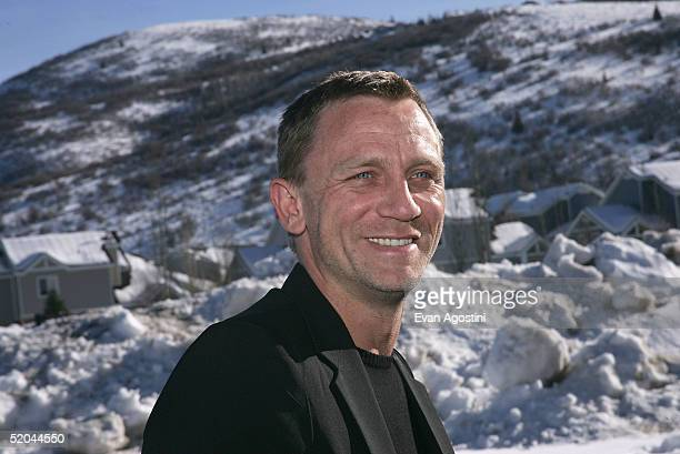 Actor Daniel Craig attends the premiere of Layer Cake at the Eccles Center for the Performing Arts during the 2005 Sundance Film Festival on January...